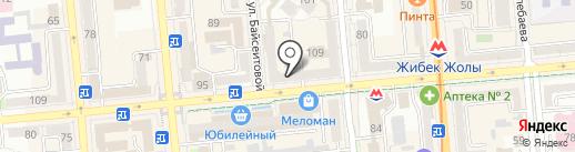 Шелковый путь-Казахстан, ТОО на карте Алматы