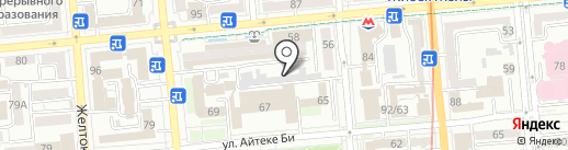 Центральная автомойка №1 на карте Алматы