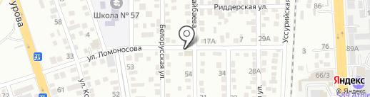 Камила на карте Алматы