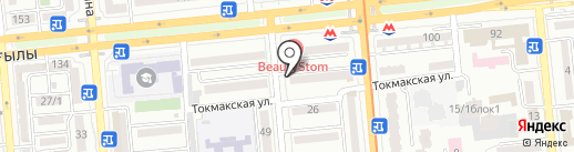 Карамель на карте Алматы