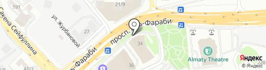 MAMA`s на карте Алматы