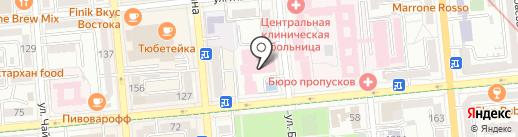 Многопрофильная клиника на карте Алматы
