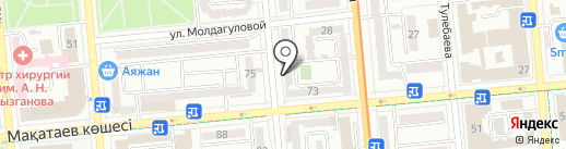 Интел-Мониторинг на карте Алматы