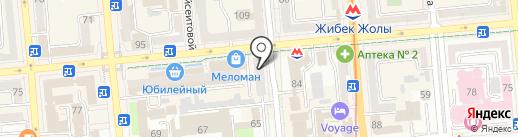 Nova/Я на карте Алматы