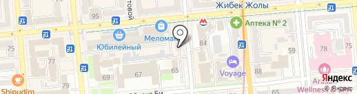 Zheka`s Doner House на карте Алматы