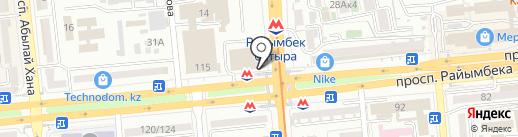 MyPost на карте Алматы