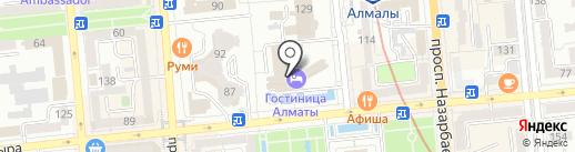 Million Travels на карте Алматы