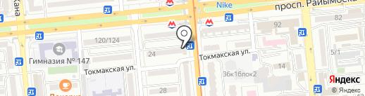 Участковый пункт полиции №64 Жетысуского района на карте Алматы