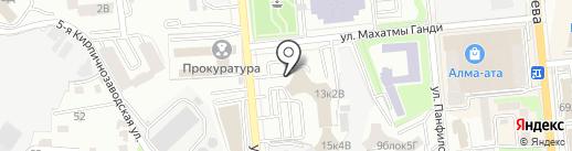 Зеленский Корпорейт Тревел Солюшнз на карте Алматы