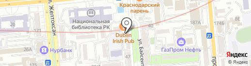 Восточный Express на карте Алматы