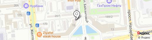 OOS-studio на карте Алматы
