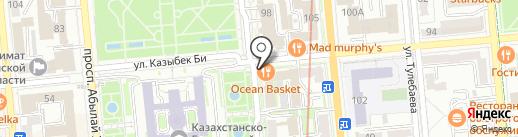 Кулинар, ТОО на карте Алматы