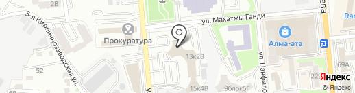 Alfa-Cosmo на карте Алматы
