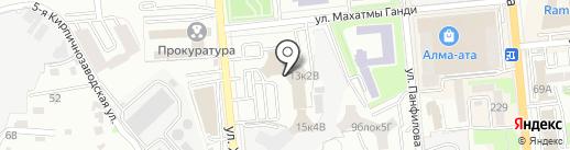 АрнаТрансСервис на карте Алматы