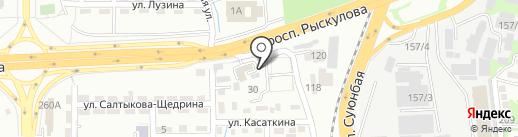 Titan Auto на карте Алматы
