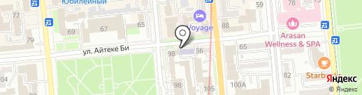 АЛМАЛЫ, ТОО на карте Алматы