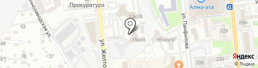 Все закупки на карте Алматы