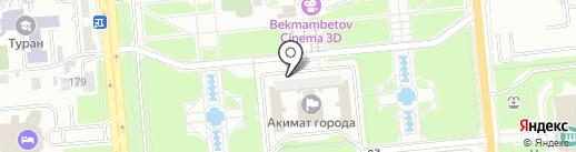 Департамент по защите прав детей г. Алматы на карте Алматы