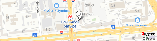 РиО на карте Алматы
