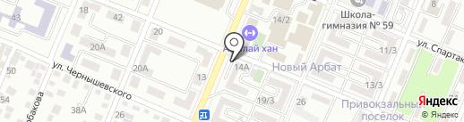 Fortuna на карте Алматы