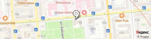 КФ КСОР на карте Алматы