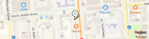 Atos lombardini на карте Алматы