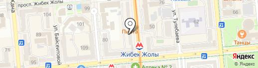 Sapfire на карте Алматы