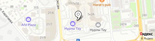 B-Leader на карте Алматы