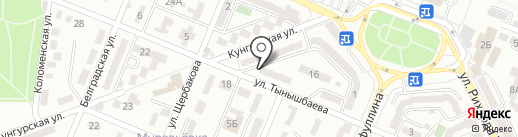 Минимаркет на карте Алматы
