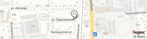 Brand SmS на карте Алматы