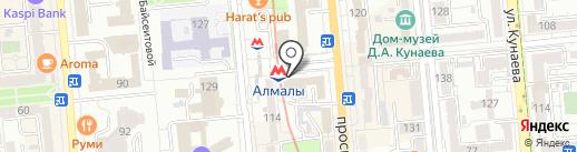 Юго-восточная региональная транспортная прокуратура на карте Алматы
