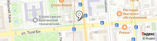 CyberPlat на карте Алматы