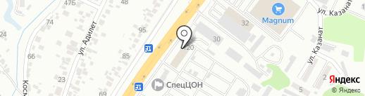 ГидравликаСтройДорМаш, торгово-сервисная компания на карте Первомайского