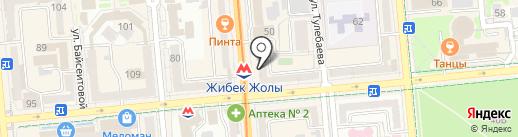 Вавилон на карте Алматы