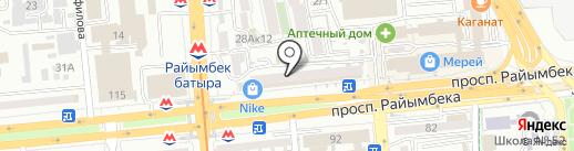 LIMON на карте Алматы