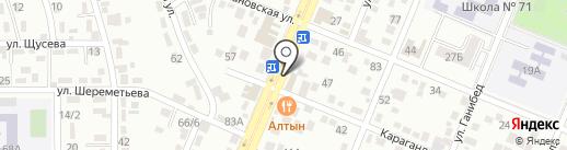 Shafran на карте Алматы