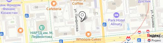 Apartamenty.kz на карте Алматы