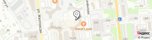 Takara Sushi Bar на карте Алматы