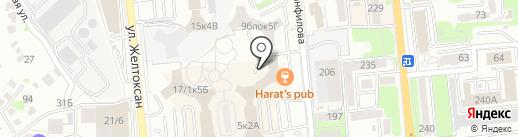 EGSAT на карте Алматы