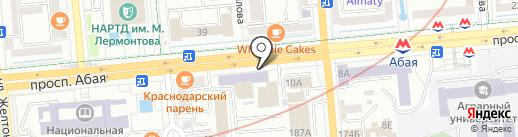 DЭLANA на карте Алматы