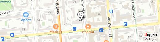 Infinitum на карте Алматы