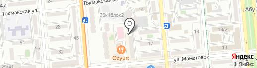 Мой дом на карте Алматы