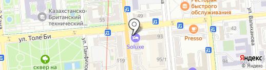 Amber lady на карте Алматы
