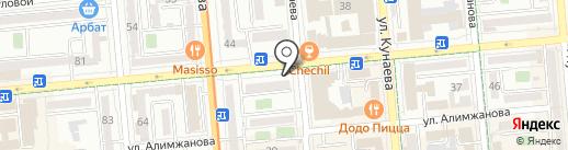 Диадэнс, ТОО на карте Алматы