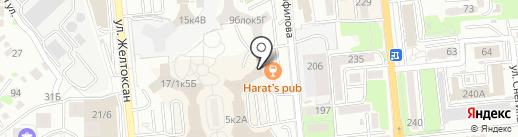 Harat`s Irish Pub на карте Алматы