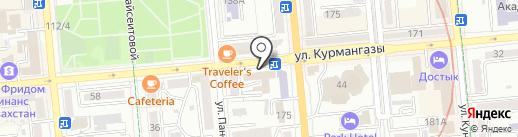 Росиб, ТОО на карте Алматы