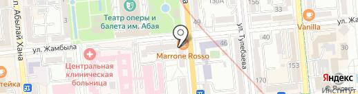 Sibella на карте Алматы
