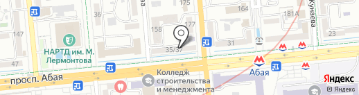 Decotex на карте Алматы