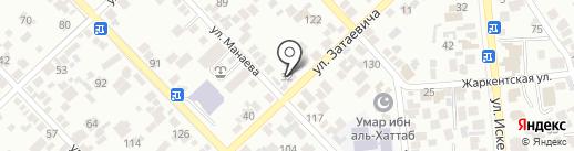 Амина на карте Алматы