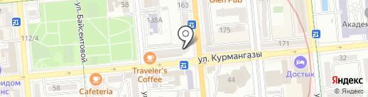 OLIVIER Restaurant & Bar на карте Алматы